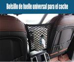 Bolsillo de malla universal para bolsas de coche