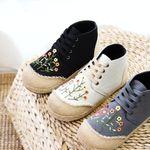 Zapatos de algodón hechos a mano Little Daisy