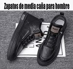 Zapatillas versátiles de media caña para hombre
