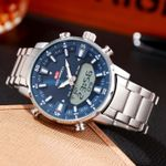 Reloj deportivo luminoso y resistente al agua para hombre