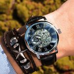 Reloj mecánico para hombre Roman