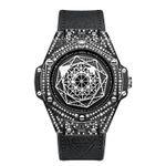 Relojes de moda con diamantes
