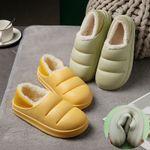 Zapatillas de algodón de lana de cordero
