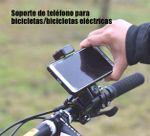 Soporte de teléfono para bicicletas/bicicletas eléctricas