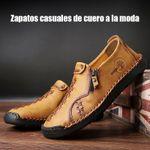 Zapatos casuales de cuero a la moda