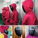 🔥🔥Salvaje del juego del calamar máscara 🔥🔥🔥