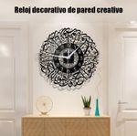 Reloj decorativo de pared creativo