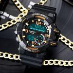 Relojes electrónicos de moda para hombres