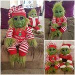 Peluche del Monstruo de Navidad Grinch Verde