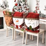 Funda de silla para la cena de Navidad