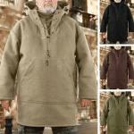 🔥 Último día 50% de descuento🔥 - Chaqueta de lana gruesa para hombre