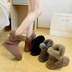 Zapatos de mujer acolchados y con grosor