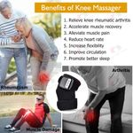 Knee Heating Massager Joint Physiotherapy Quick Effect Electric Pain Relief Rehabilitation Health Care Tool Gift