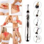 Pain Relief Therapy Electronic Acupuncture Pen Energy Heal Massage Body Head Massage Safe Meridian Health Care Helper