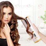Hair Curler Rotating Curling Iron LCD Full Automatic Ceramic Heating Hair Stick Professional Magic Heating Tube With Hair Clips