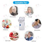 Inhaler Portable Handheld Steaming Devices Home USB Rechargeable Nebulizer for Adults Kids