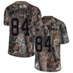 Patriots #84 Benjamin Watson Camo Team Color V-neck Short-sleeve Jersey For Fans
