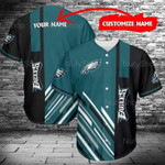 Philadelphia Eagles Custom Name Full Printing Shirt