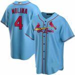 New Men's Yadier Molina St. Louis Cardinals Baseball Jersey