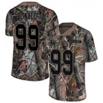 Rams #99 Aaron Donald Camo Team Color V-neck Short-sleeve Jersey For Fans
