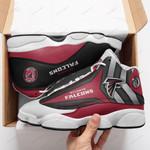 Atlanta Falcons  Air Jordan 13 Shoes Sneaker Gift Shoes For Fan , shoes Sport for Men for women, Like the Sneaker ALLAFACONRED