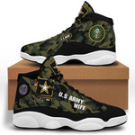 Us Army Wife  Air Jordan 13 Shoes Sneaker,  Gift Shoes For Fan Like Sneaker , Shoes Sport For Everyone