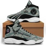 Us Army Force  Air Jordan 13 Shoes Sneaker,  Gift Shoes For Fan Like Sneaker , Shoes Sport For Everyone