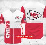 Kansas City Chiefs Baseball Shirt