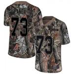 Ravens #73 Marshal Yanda Camo Team Color V-neck Short-sleeve Jersey For Fans