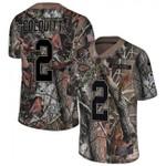 Chiefs #2 Dustin Colquitt Camo Team Color V-neck Short-sleeve Jersey For Fans