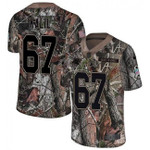 Panthers #67 Ryan Kalil Camo Team Color V-neck Short-sleeve Jersey For Fans