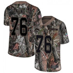 Chargers #76 Russell Okung Camo Team Color V-neck Short-sleeve Jersey For Fans