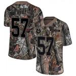 Colts #57 Kemoko Turay Camo Team Color V-neck Short-sleeve Jersey For Fans
