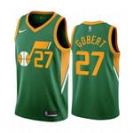 Men's Rudy Gobert Utah Jazz Green  2021 Jersey
