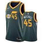 Men's Donovan Mitchell Utah Jazz Green Mitchell 2021 Jersey