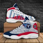 TENNESSEE TITANS NFL  team LOGO Black  Air Jordan 13 Shoes Sneaker,  Gift Shoes For Fan Like Sneaker , Shoes Sport For Fan