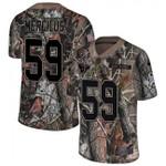 Texans #59 Whitney Mercilus Camo Team Color V-neck Short-sleeve Jersey For Fans