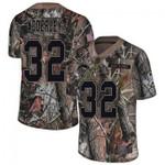 Chargers #32 Nasir Adderley Camo Team Color V-neck Short-sleeve Jersey For Fans