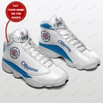 Los Angeles Clippers  Personalized  Air Jordan 13  Shoes Sneaker,  Gift Shoes For Fan Like Sneaker, sneaker shoes Customized