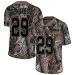 Cardinals #29 Chase Edmonds Camo Team Color V-neck Short-sleeve Jersey For Fans