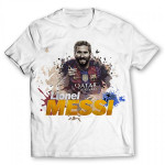 Lionel Messi Printed Graphic Football Soccer Shirt