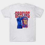 Football Player Lionel Messi FC Barcelona Argentina Signature Shirt