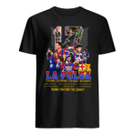 Lionel Messi 17 La Pulga Thank You For The Legacy Signature T- Shirt