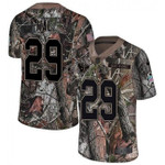 Texans #29 Andre Hal Camo Team Color V-neck Short-sleeve Jersey For Fans