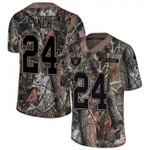 Raiders #24 Marshawn Lynch Camo Team Color V-neck Short-sleeve Jersey For Fans