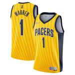 Indiana Pacers NBA  Nike Earned Swingman Jersey -1 T.J. Warren - Shirt