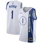 Indiana Pacers NBA Nike City Swingman Jersey-1 T.J Warren-Mens Shirt