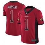 Cardinals #1 Kyler Murray Red Team Color V-neck Short-sleeve Jersey For Fans