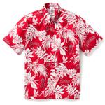 Los Angeles Angels Logo Aloha Hawaiian Shirt