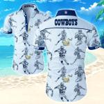 Dallas Cowboys Nfl Sport Hawaiian Shirt Funny Aloha Shirts